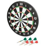 Franklin Sports 3600 Dartboard Paper 17In