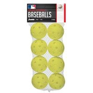 Franklin Sports 19885A Baseball Plastic 8Pk 70Mm 8 Pack