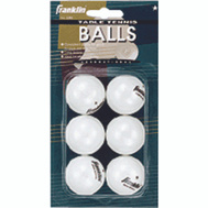 Franklin Sports 57113 One Star White Table Tennis Balls
