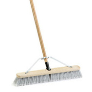 Simple Spaces 93150 Push Broom W/Brace 24In Smooth
