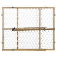 North States 4604 Supergate 23 Inch Adjustable Diamond Mesh Gate