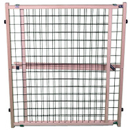 North States 4614A 32 Inch Adjustable Wire Mesh Pet Gate