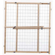 North States 4618A 32 By 29-1/2 To 50 Inch Wire Mesh Expanding Gate