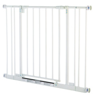 North States 4991 29 Inch White Adjustable Easy Close Pet Gate