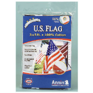 Annin Flagmakers 001124R 3 By 5 Foot Cotton Replacement Flag
