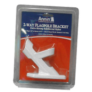 Annin Flagmakers 642629 2 Position Flag Pole Bracket