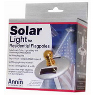 Annin Flagmakers 752250 Flag Pole Solar Light