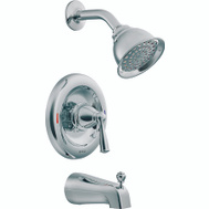 Moen 82910 Banbury Single Handle Posi-Temp Tub And Shower Set Chrome