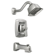 Moen 82830EP Boardwalk Single Handle Tub And Shower Set Chrome