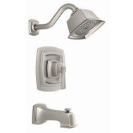 Moen 82830EPSRN Boardwalk Single Handle Tub And Shower Set Brushed Nickel
