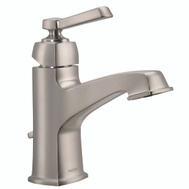 Moen WS84805SRN Boardwalk Faucet Lav 1Hndl Brush Nickel