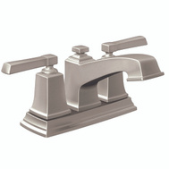 Moen WS84800SRN Boardwalk NI 2Hand Low Lav Faucet