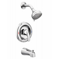 Moen L82683 Adler Single Handle Tub And Shower Set Chrome