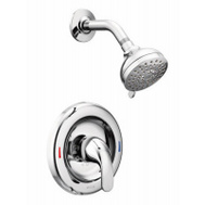 Moen L82680 Adler Single Handle Shower Set Chrome