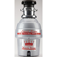 Moen 5000TC 3/4 Hp Batch Feed Operation Waste Disposer