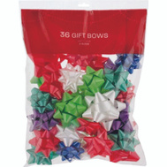Santas Forest 68101 Bows Bagged 36Ct Sticky Back