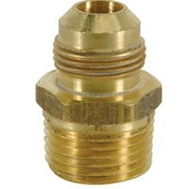 Brass Craft FRC13-6-8 Plumb Shop 294M 3/8 Inch Od By 1/2 Inch Male Iron Pipe Half Union