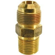 Brass Craft MAU2-10-12 Plumb Shop 5/8 Inch Od Tube By 3/4 Inch Male Iron Pipe Flare Male Union