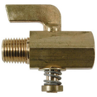 Brass Craft V402-2 Plumb Shop 1/8 Inch Male Iron Pipe By 1/8 Inch Female Iron Pipe Gas Cock