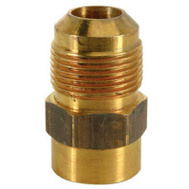 Brass Craft MAU1-10-8 K5 Plumb Shop 1/2 Inch Male Iron Pipe Brass Adapter