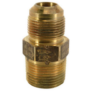 Brass Craft MAU2-10-12 K5 Plumb Shop 3/4 Inch Male Iron Pipe Brass Fitting