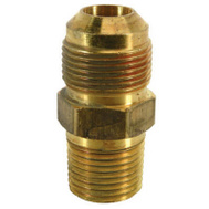 Brass Craft MAU2-10-8 K5 Plumb Shop 1/2 Inch Male Iron Pipe Brass Adapter