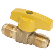 Brass Craft TBVF8 Plumb Shop Ball Valve 1/2 Inch Od Floor By 1/2 Inch Od Floor