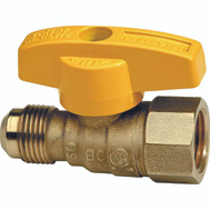 Brass Craft TBV6F-8 Plumb Shop Gas Ball Valve 3/8 Inch Od Floor By 1/2 Inch Female Iron Pipe