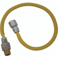 Brass Craft CSSL54-24 Plumb Shop 24 Inch Stainless Steel Gas Connector