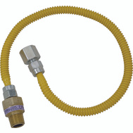 Brass Craft CSSL54-36 Plumb Shop 36 Inch Stainless Steel Gas Connector