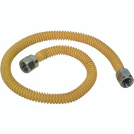 Brass Craft CSSTNN-28N Plumb Shop 28 Inch Coated Stainless Steel Gas Connector