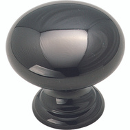 Amerock BP1950BNB Allison Value Hardware Advantage Solid Brass Cabinet Knob Black Nickel