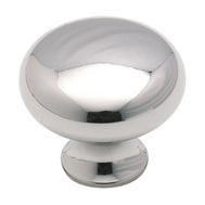 Amerock BP85326 Anniversary Classic Round 1-3/16 Inch Cabinet Knob Polished Chrome