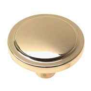 Amerock BP34433-X Traditional Classics Harmony Cabinet Knob Polished Brass