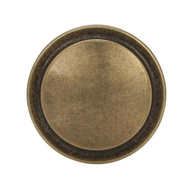 Amerock BP3443BB Allison Value Hardware Round Harmony Ring Style1-1/4 Inch Cabinet Knob In A Burnished Brass Finish