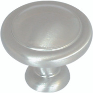 Amerock BP1387G10 Reflections Cabinet Knob 1-1/4 Inch Round Satin Nickel
