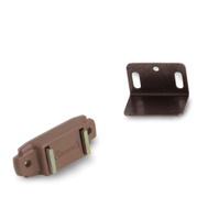 Amerock BP97653PT Magnetic Cabinet Catch With Strike In Tan