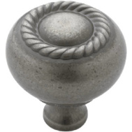 Amerock BP53471WN Scroll Cabinet Knob Weathered Nickel