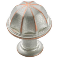 Amerock BP53035WNC Eclectic Eydon Cabinet Knob Weathered Nickel Copper