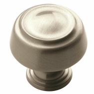 Amerock BP53700G10 Kane Round Ring Style 1-3/16 Inch Cabinet Knob In A Satin Nickel Finish