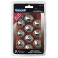 Amerock TEN53002G10 Allison Value Hardware Cabinet Knob 1-3/16 Inch Satin Nickel 10 Pack