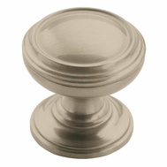 Amerock BP55342G10 Revitalize Round 1-1/4 Inch Cabinet Knob In A Satin Nickel Finish