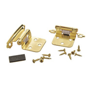 Amerock BP34293/BPR34293 Variable Overlay Cabinet Hinges In Polished Brass