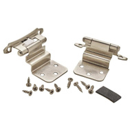 Amerock BP792826/BPR79282 Imperia Self Closing Face Frame Mount 3/8 Inch Inset Cabinet Hinges Polished Chrome