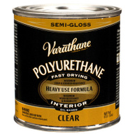 Varathane 6061H Clear Semi Gloss Premium Polyurethane 1/2 Pint Oil Based