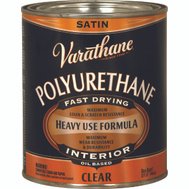 Varathane 9141H Clear Satin Premium Polyurethane VOC Quart Oil-Based