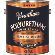 Varathane 9132 Clear Satin Premium Polyurethane VOC Gallon Oil-Based