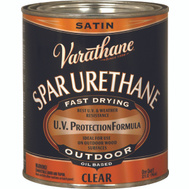 Varathane 9341 Quart Satin Exterior Wood Finish