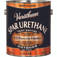 Varathane 9431 Premium Spar Gloss Urethane Semi Gloss Gallon Oil Based