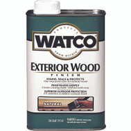 Watco 67741 Natural Exterior Wood Finish Quart